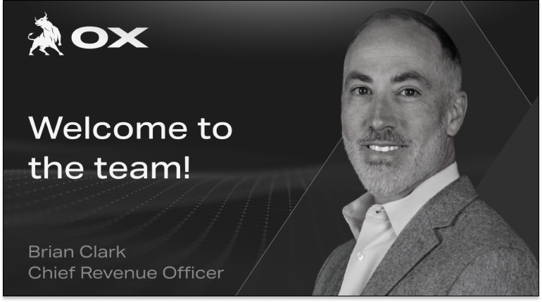 Brian Clark, CRO at Ox